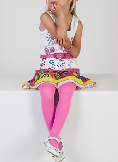 Pierre Cardin Çocuk Külotlu Çorap Pembe